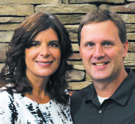 Owners Rick and Kelley Dahle